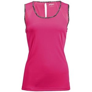 NWT Prince Athletic Raspberry Cap Sleeve Tank Top